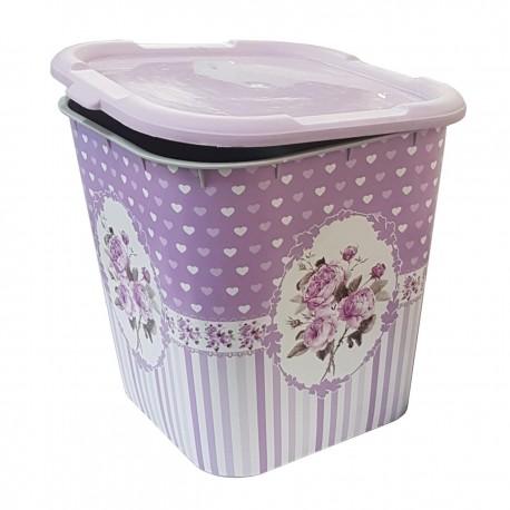 سطل چندکاره برنج حبوبات یا زباله 12 لیتری Stillo کد 4283