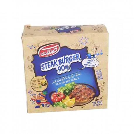 استیک برگر 90 درصد گوشت قرمز 600 گرمی صدک