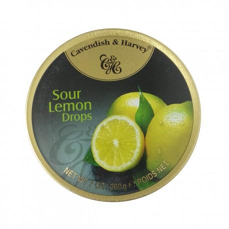 آبنبات با طعم لیمو 200 گرمی کاواندیش