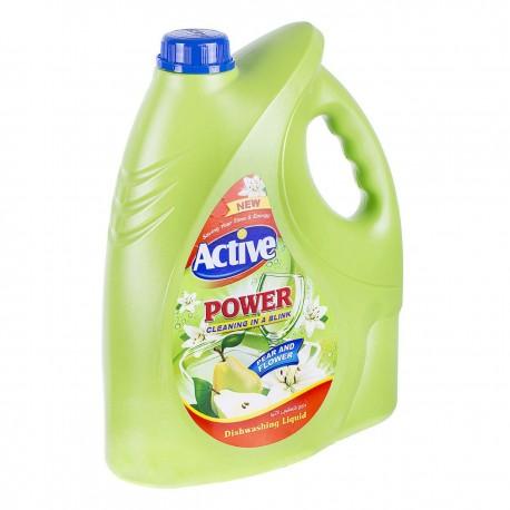 مایع ظرفشویی سیلور سبز 3750 گرمی اکتیو