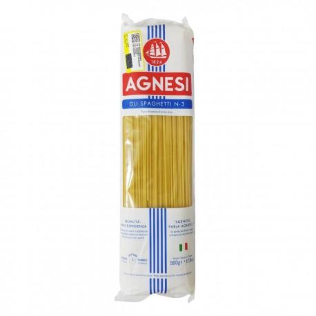 ماکارونی 500 گرمی رشته ای ریگاتی Agnesi