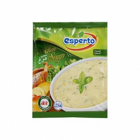 سوپ مرغ 65 گرمی اسپرتو