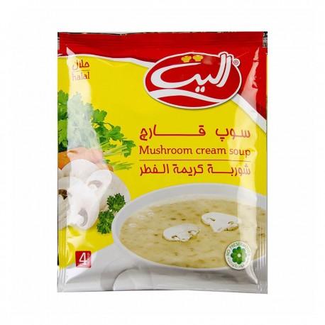 سوپ قارچ 65 گرمی الیت