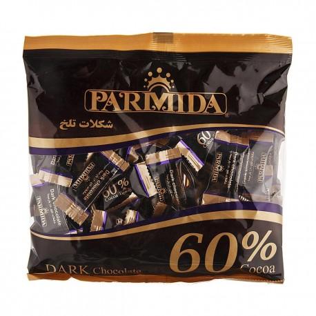 شکلات 60 درصد تلخ 330 گرمی پارمیدا