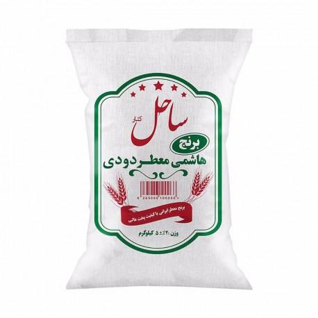 برنج ایرانی هاشمی دودی 5 کیلویی ساحل کنار