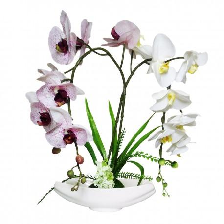 گلدان گل ارکیده کد 7945