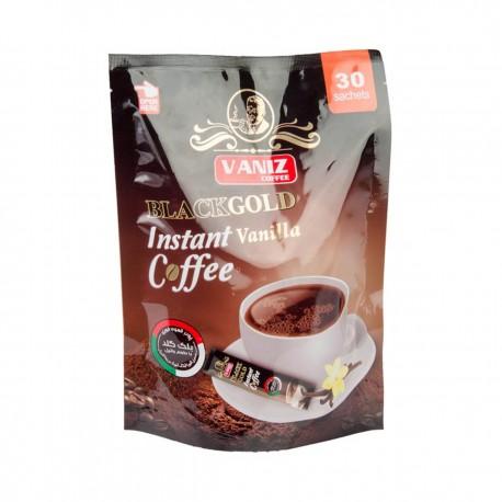 قهوه فوری بلک گلد با طعم وانیل بسته 30 عددی ونیز