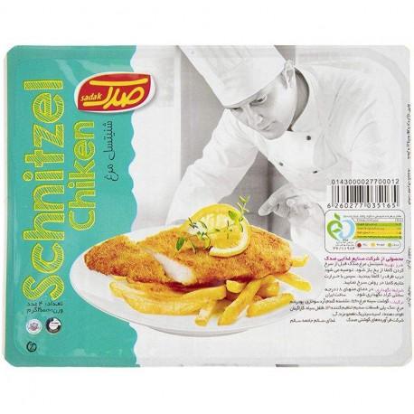 شنیتسل مرغ 90 درصد 400 گرمی صدک