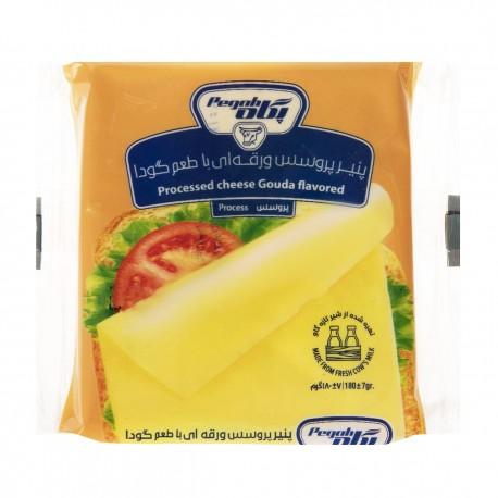 پنیر پروسس ورقه ای با طعم گودا 180 گرمی پگاه