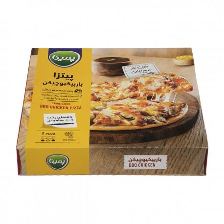 پیتزا باربیکیو چیکن 450 گرمی پمینا